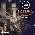 Puro Berlin 12 Jahre Exzessiva! Die Große B Day-Party! Free Entry & Drinks* bis 0.12 Uhr