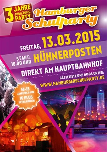 Hühnerposten Hamburg Eventflyer #1 vom 13.03.2015