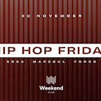 Club Weekend Berlin Hip Hop Friday - view over Berlin - Special DJ from Nrw