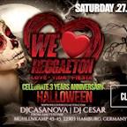 Club Du Nord Hamburg We Love Reggaeton 3 Year Anniversary l Halloween