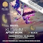 The Pearl Berlin Ku'Damm After Work x 28 BLACK | 104.6 RTL