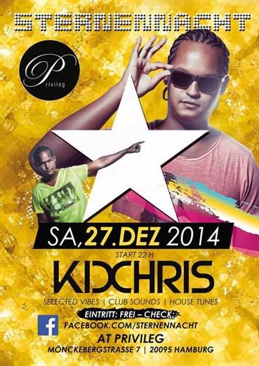 Privileg 27.12.2014 Sternennacht - DJ Kid Chris