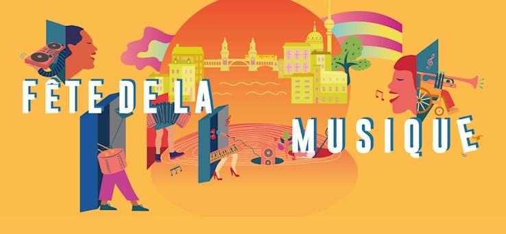 Berlin 21.06.2019 Fête de la Musique 2019!