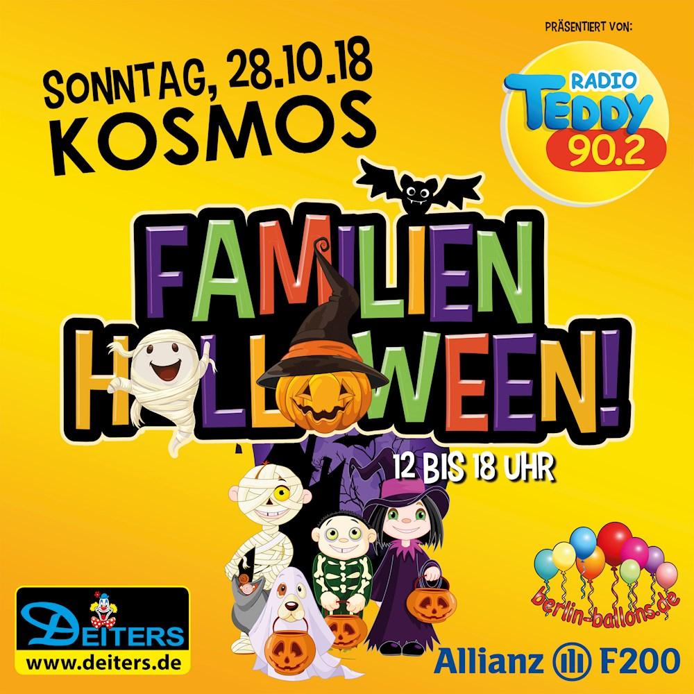 Kosmos Berlin Das große Familien Halloween präsentiert von Radio TEDDY