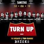 Bricks Berlin Turn Up • 10 Djs