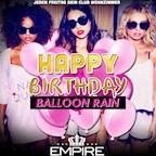 Empire Berlin Club Room | Happy Birthday