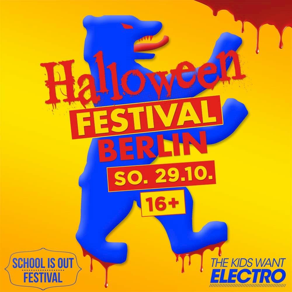 1 Stralau Berlin The Kids Want Thriller & School is Horror present: Halloween 16+