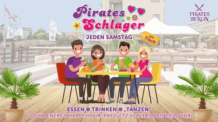 Pirates Berlin Eventflyer #1 vom 07.08.2021