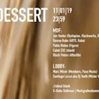 about blank Berlin Dessert with Jon Hester / Denise Rabe / Pablo Mateo