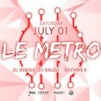 "Tube Station Berlin Les Trois pres. ""Le Metro"""