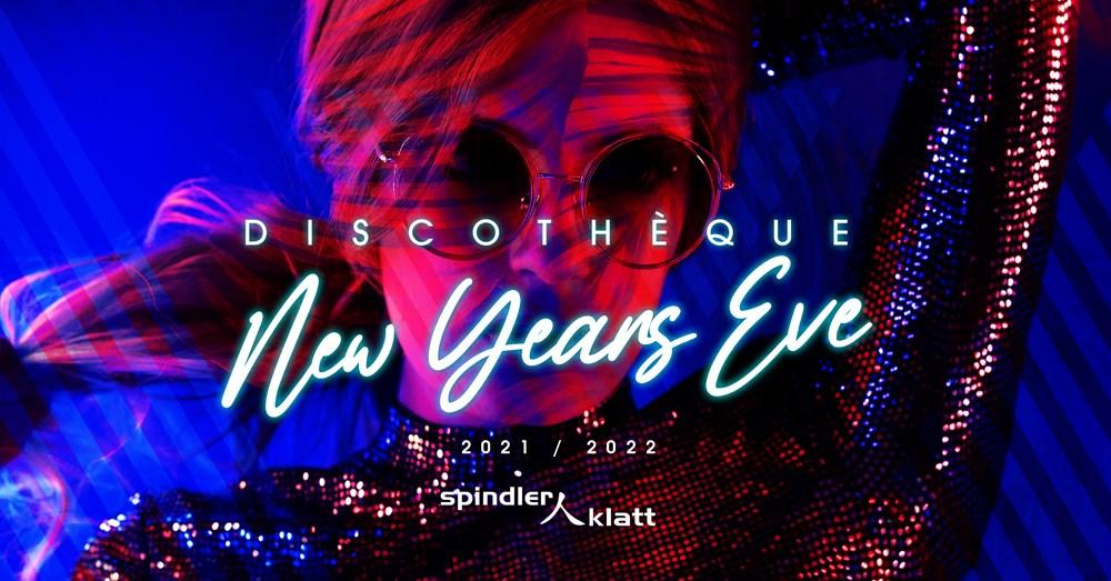 Spindler & Klatt Berlin Discotéque- New Years Eve 2021/22