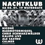 Watergate Berlin Nachtklub: Niconé, Madmotormiquel, Chris Schwarzwälder