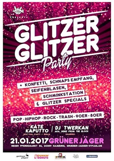 Grüner Jäger 21.01.2017 Glitzer Glitzer Party