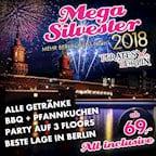 Pirates Berlin Mega Silvester Berlin – All Inclusive – Mehr Berlin geht nicht!