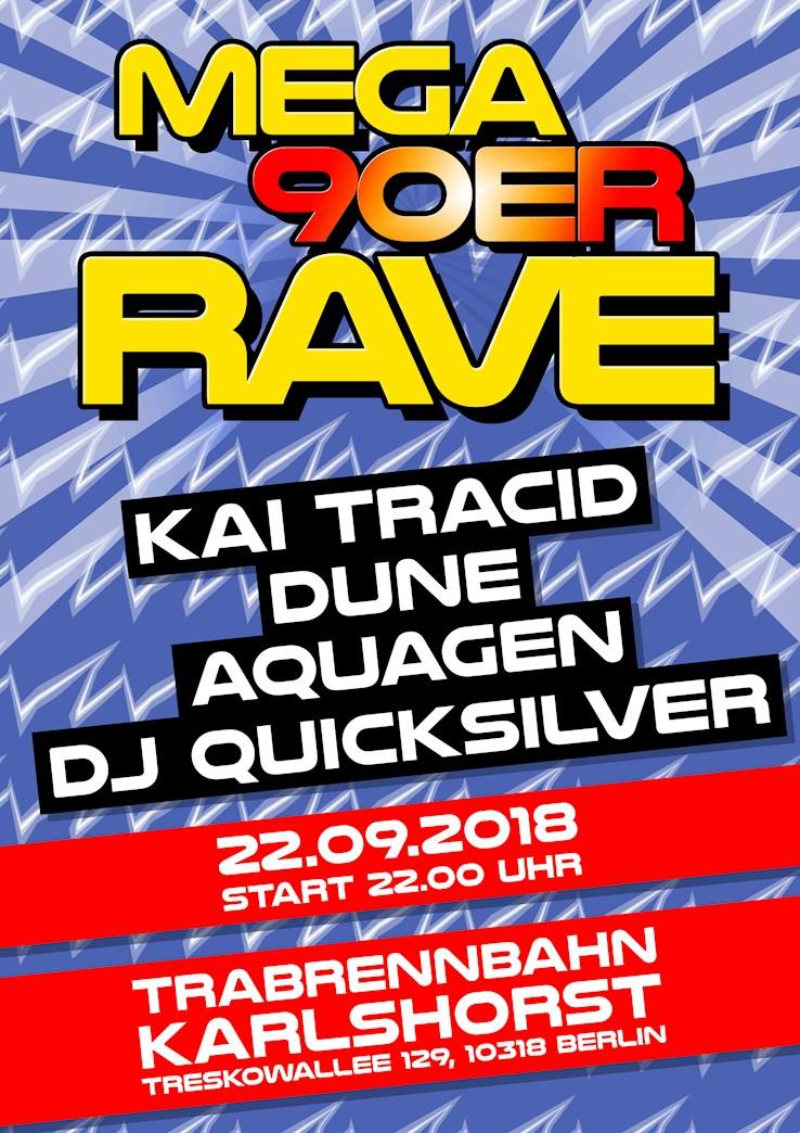 Trabrennbahn Karlshorst 22.09.2018 Mega 90er Rave