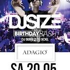 Adagio Berlin DJ Size Birthday Bash