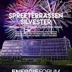 Energieforum Berlin Silvester Spreeterrassen 2017 / 2018 im Atrium des Energieforums