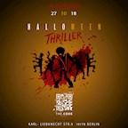 The Code Berlin Halloween Thriller