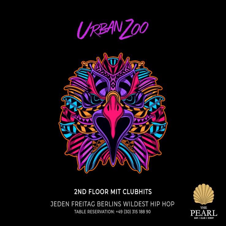 The Pearl 13.12.2019 Urban Zoo - nur Freitags Berlins wildest Hip Hop