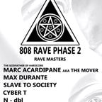 Suicide Club Berlin 808 Rave Phase 2 with Marc Acardipane aka The Mover, Max Durante, Slave to Society and More