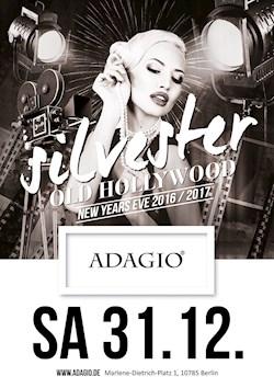 Adagio Berlin Silvester 2016 Happy New Year!