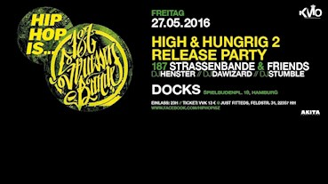 Docks Prinzenbar Hamburg Eventflyer #1 vom 27.05.2016