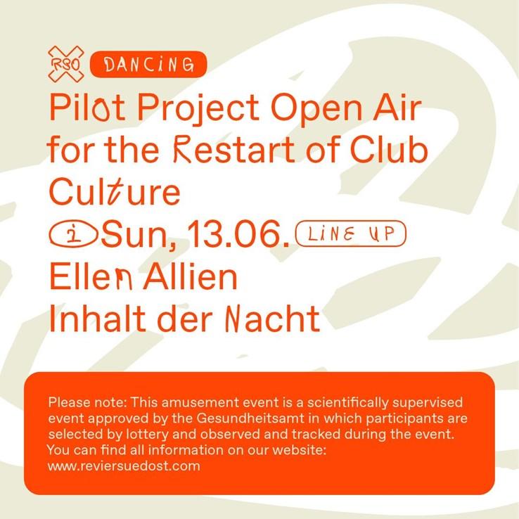 Revier Südost 13.06.2021 Pilotprojekt-Rave mit Ellen Allien