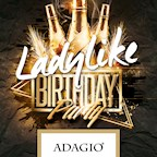 Adagio Berlin Ladylike Birthday Party meets Berlin nights! (we know what girls want)