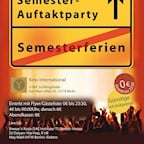 Kino International Berlin Semester Auftaktparty