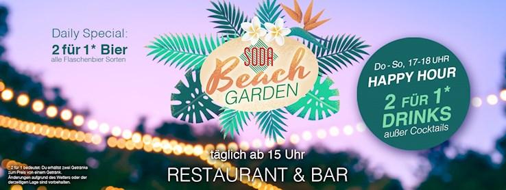 Soda 11.07.2020 Soda Beach Garden