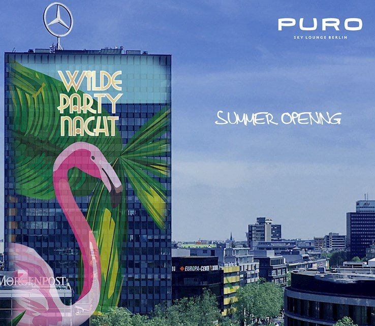 Puro 03.06.2017 Summer Opening - Wilde Party - Terrace & Club