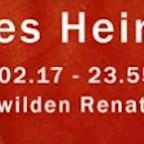 Salon - Zur wilden Renate Berlin Renates Heimkinder /w. Joyce Muniz, Shir Khan, Martin Waslewski & More