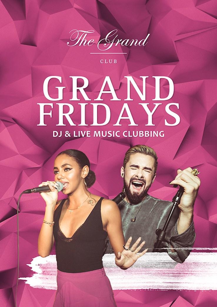 The Grand 30.06.2017 Grand Fridays – Zu DJ & Live Band im Club Tanzen
