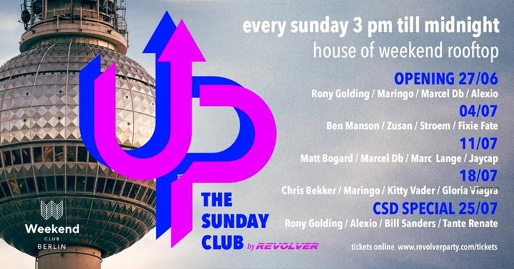 Club Weekend Berlin Eventflyer #1 vom 27.06.2021