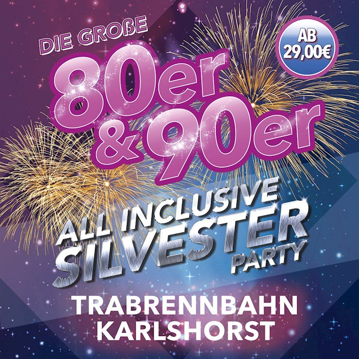 Trabrennbahn Karlshorst Berlin Eventflyer #1 vom 31.12.2018