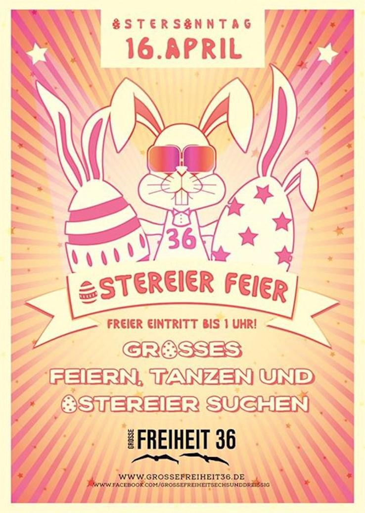 Große Freiheit 36 Hamburg Eventflyer #1 vom 16.04.2017
