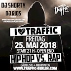 Traffic Berlin I Love Traffic - Hip Hop vs. Rap