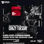 ASeven Berlin Crazy Tuesday - Take Off x School Is Out Festival