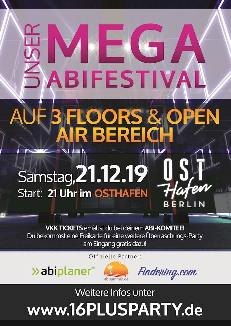 Osthafen 21.12.2019 Das Mega Abi Festival - auf 3 Floors - Day 2