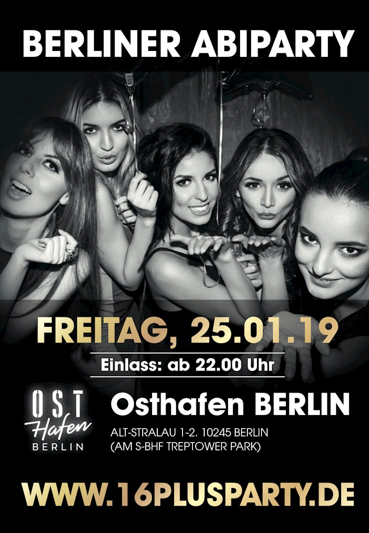 Osthafen 25.01.2019 Berliner AbiParty