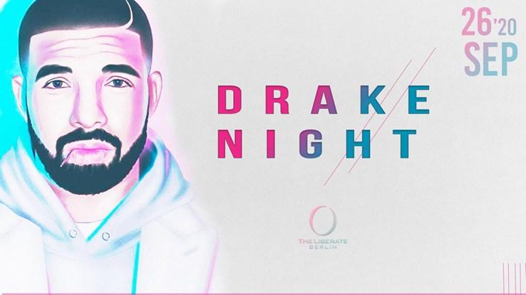 The Liberate 26.09.2020 Drake Night - Hip Hop & Urban