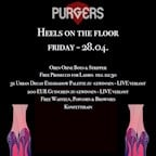 E4 Berlin Purgers presents - Heels on the Floor - Finest HipHop, RnB and Blackmusic