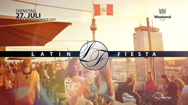 Club Weekend 27.07.2021 Latin tuesday - Peru Special