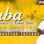 Club Weekend Berlin Latin Rooftop Tuesday- Dance & Food (Cuba special)