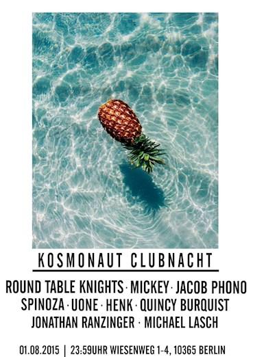Kosmonaut 01.08.2015 Round Table Knights, Mickey & Jacob Phono