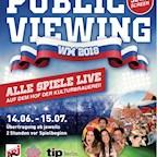 Kulturbrauerei Berlin Public Viewing zur Fußball WM 2018
