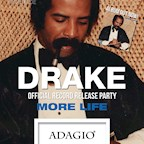 """Adagio Berlin Drake """"More Life"""" Album Record Release Party powered by Nice to"""