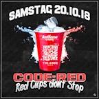 """The Code Berlin Code:Red präsentiert """"Red Cups don't Stop!"""""""