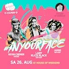 House of Weekend Berlin #inyourface hiphop session