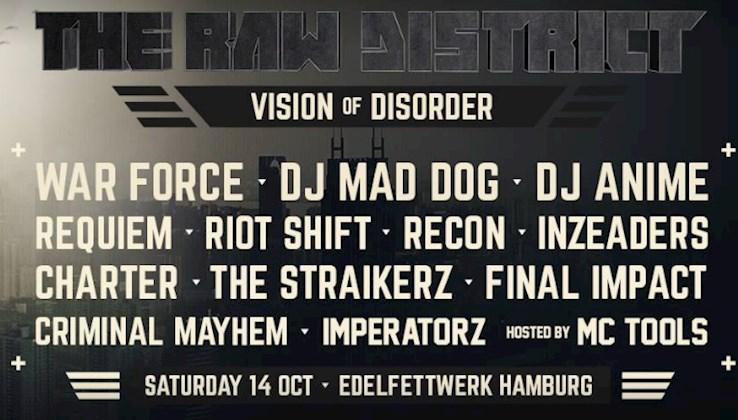 Edelfettwerk Hamburg Eventflyer #1 vom 14.10.2017